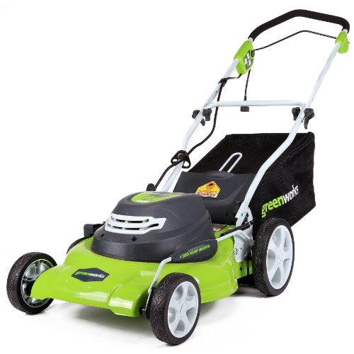 GreenWorks 25022 12 Amp Corded 20-Inch Lawn Mower Review: Transform ...
