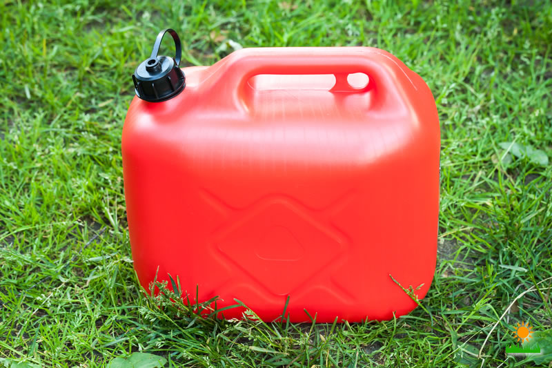 Gas and Oil for Gas Mower