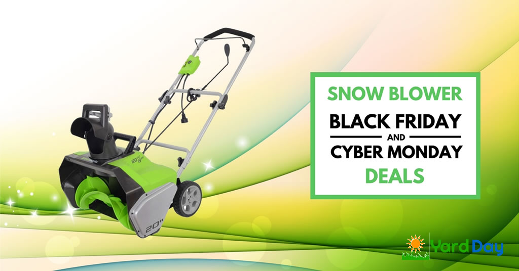 Snow Blower Black Friday and Cyber Monday Deals