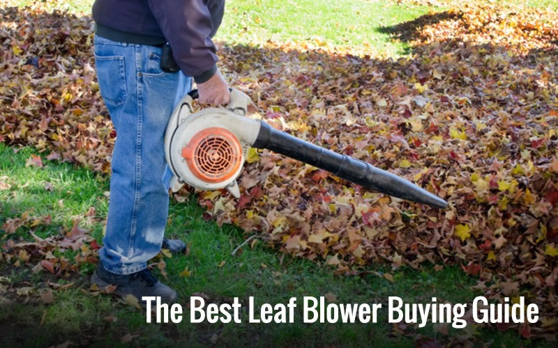 The Best Leaf Blower Comparison Buying Guide