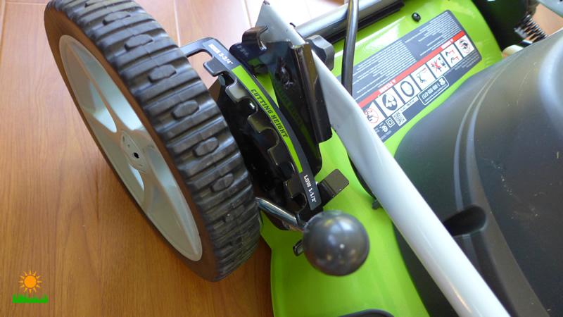 Greenworks 25022 Adjustable Height