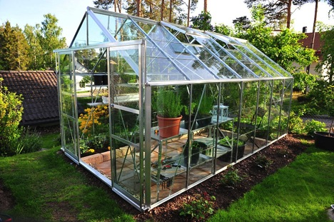 Create a homeostatic environment for a greenhouse